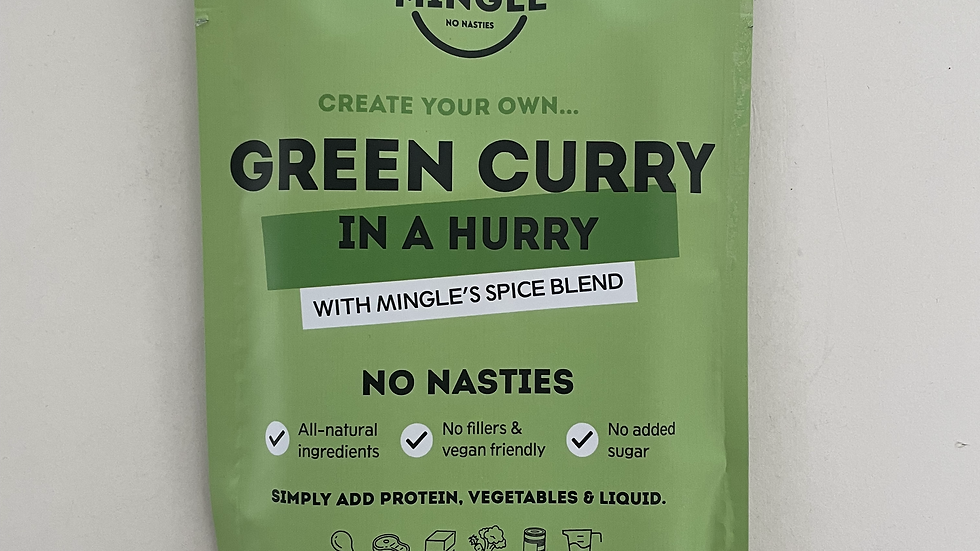 Natural Seasoning Blend Green Curry - Mingle 30g
