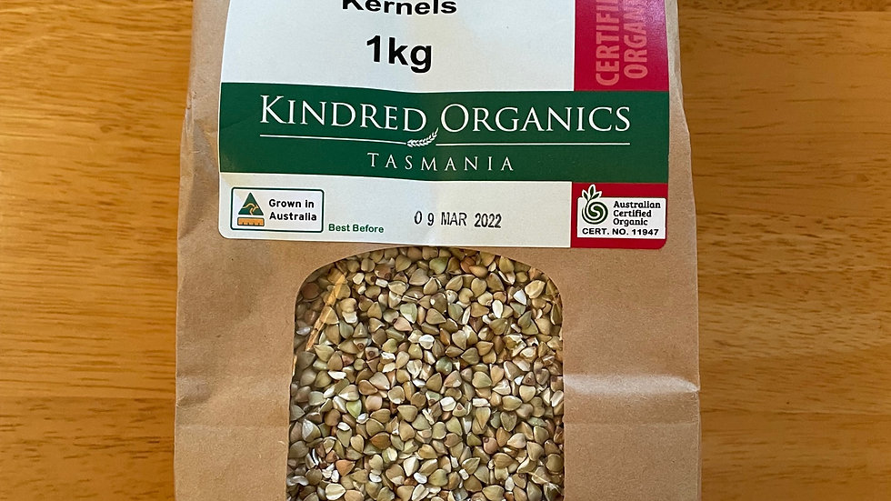 Buckwheat Kernels Organic - 1kg