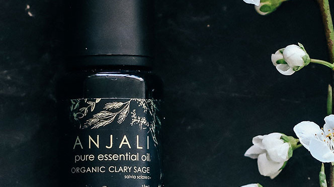 Clary Sage Anjali essential oils - Organic 15ml
