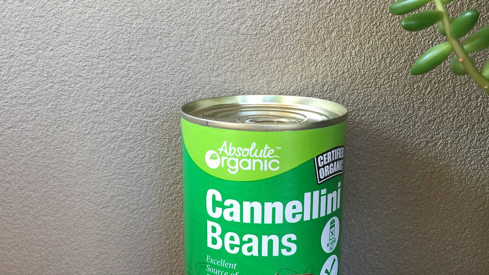 Cannellini beans - Certified Organic - 400gm