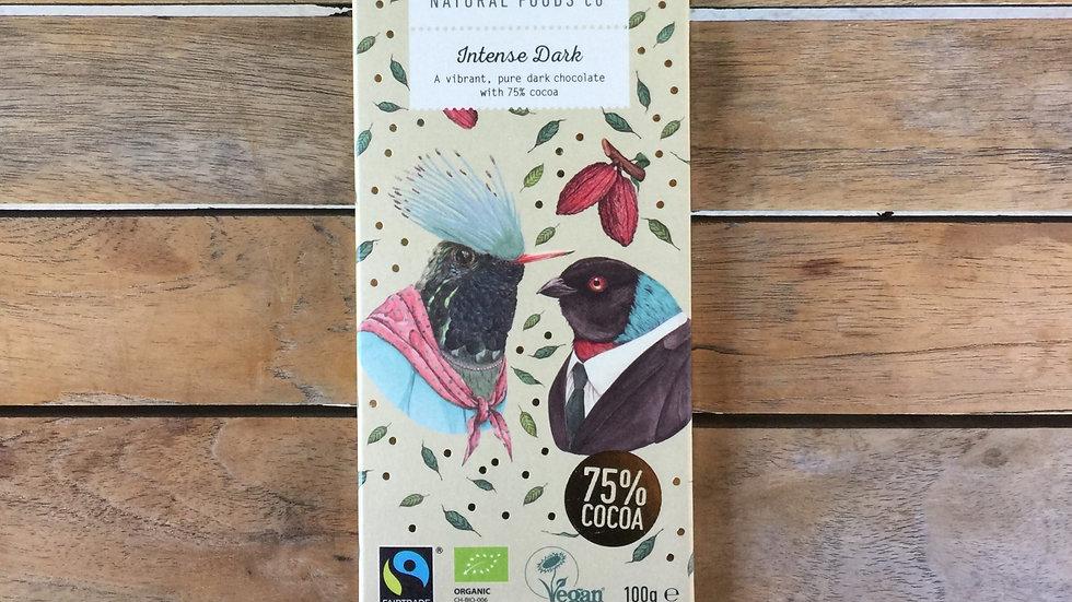 BENNETTO Chocolate Intense Dark - Organic Fairtrade - 100g