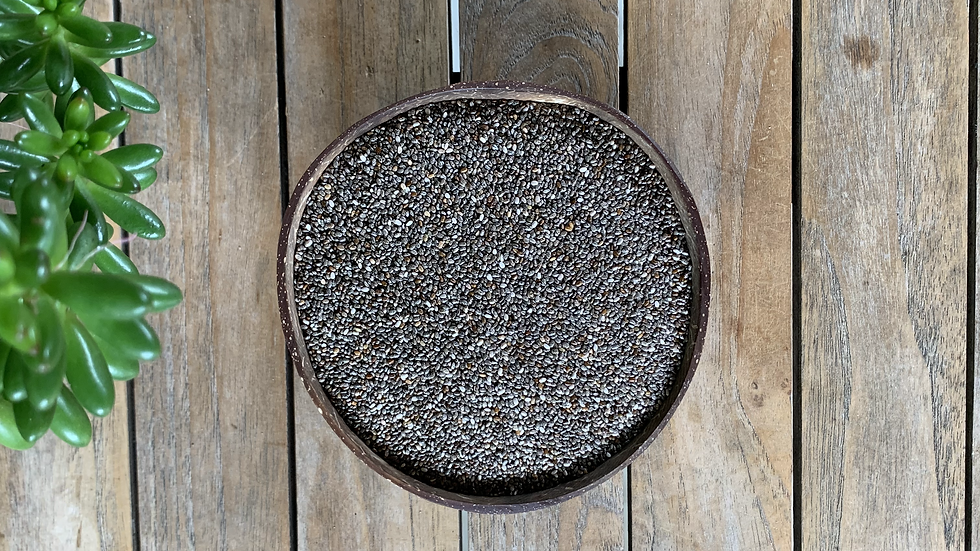 Black Chia Seeds Organic - 100g