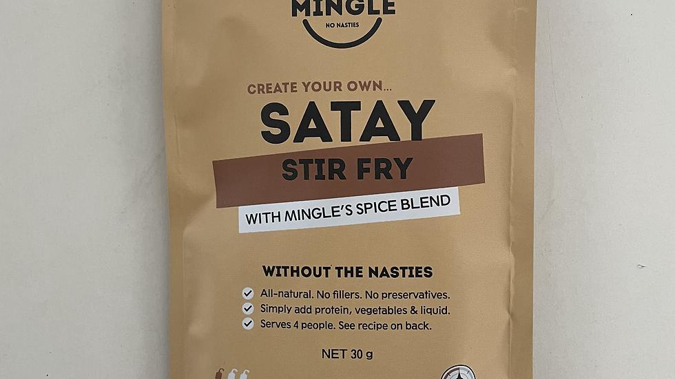 Natural Seasoning Blend Satay Stir Fry - Mingle 30g