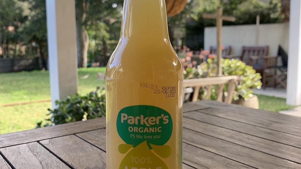 Juice Organic Apple  330ml Parker's Organic ACO 2024