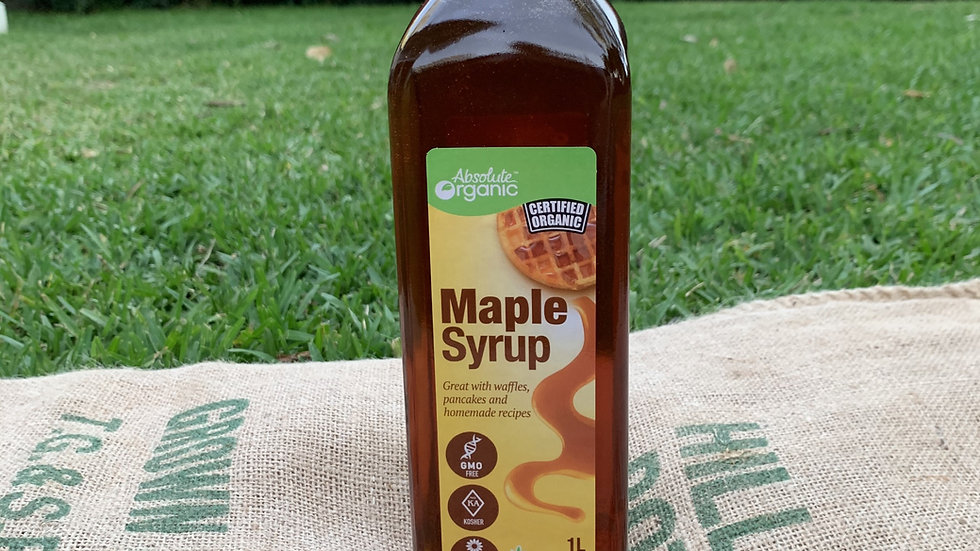 Maple Syrup Pure  1L Absolute Organic ACO