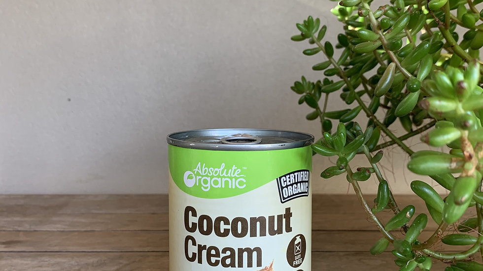 Coconut Cream Certified Organic - 400ml