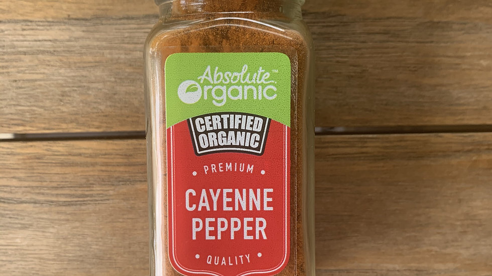 Cayenne Pepper  Organic Spices - 50g