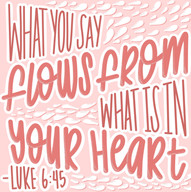 What Flows From Your Heart