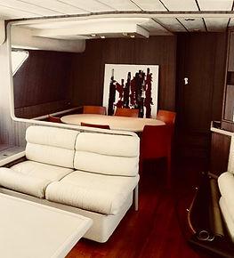 Riqualificazione interni panfilo yacht