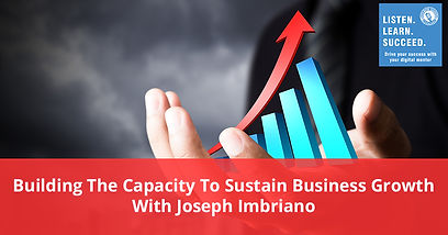 Building The Capacity To Sustain Busines