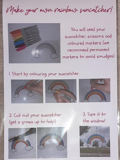 Rainbow Suncatcher Kit