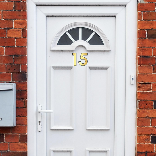 Vinyl Door Number Stickers
