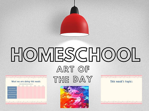 DIGITAL Homeschool Display Pack