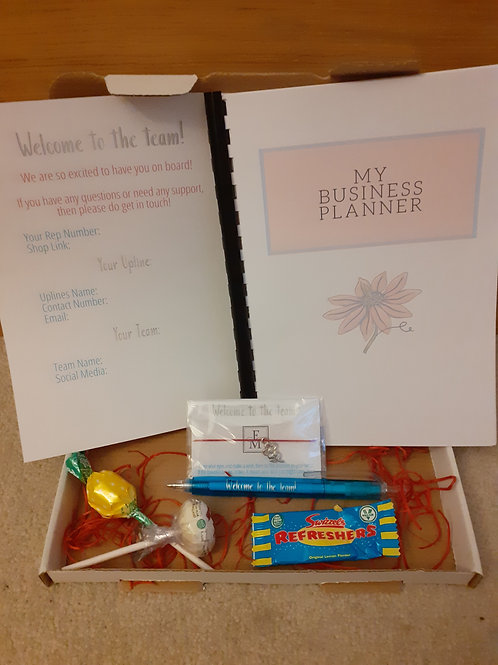 MLM 'Welcome to the Team' Box