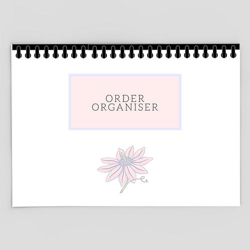A4 Order Organiser Book
