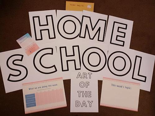 Homeschool Display Pack
