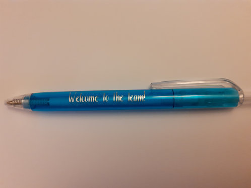 'Welcome to the Team' Pen