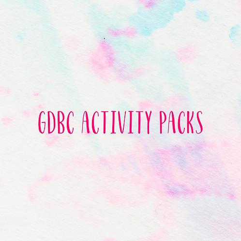 GDBC Activity Packs
