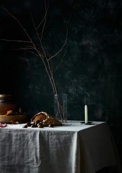 dark autumn moody interior