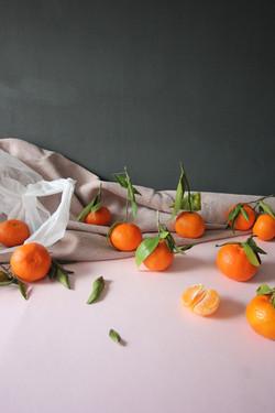 Oranges still life photo food stylin