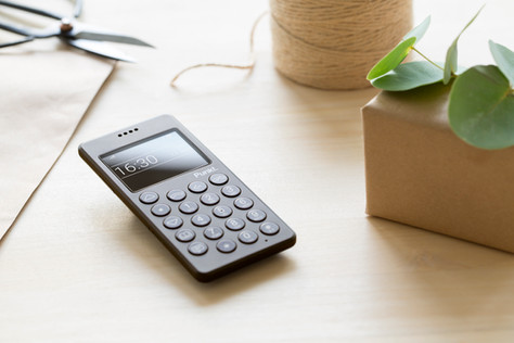 Photoshoot of the Punkt phone