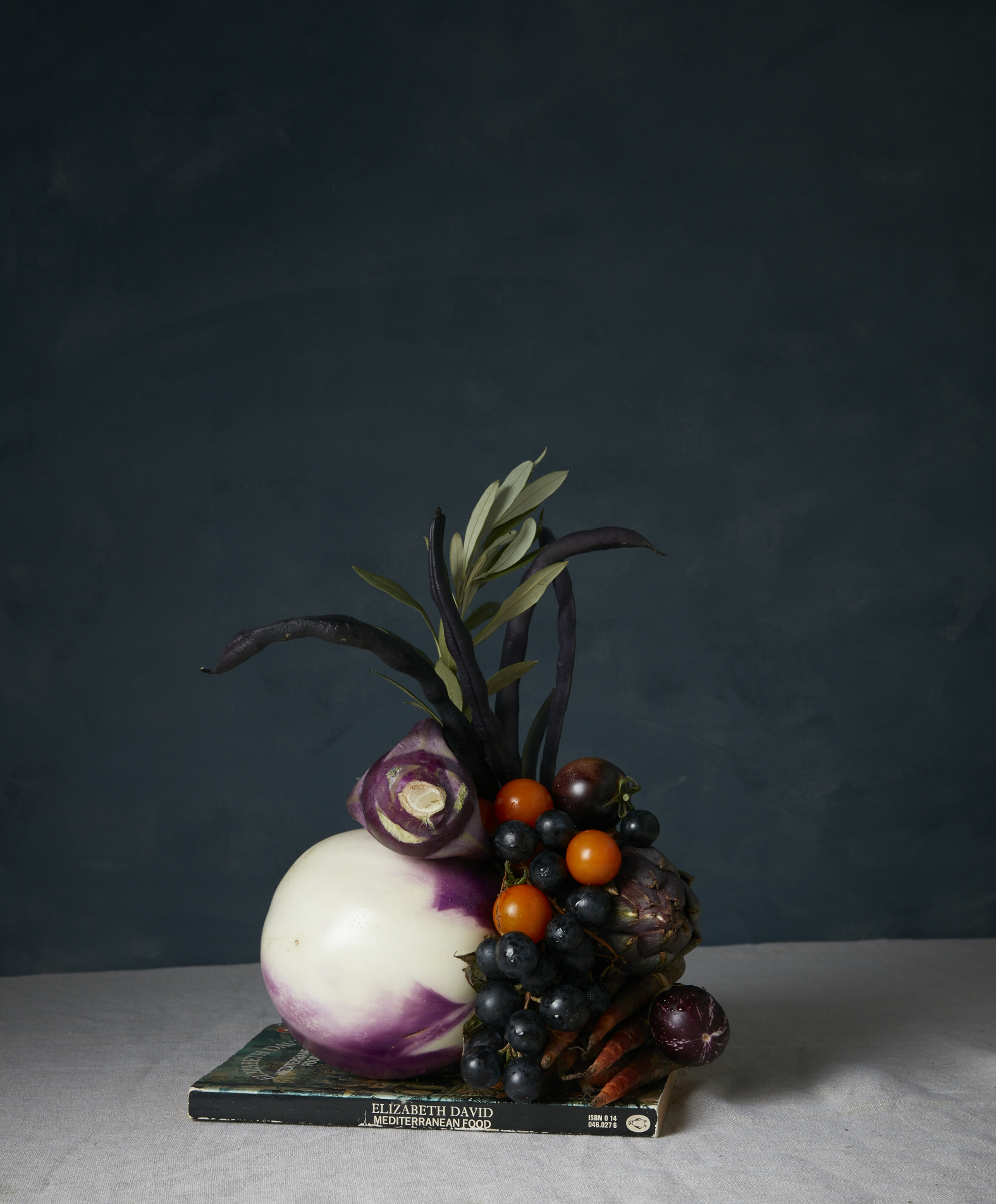 Food styling sculpture photoshoot
