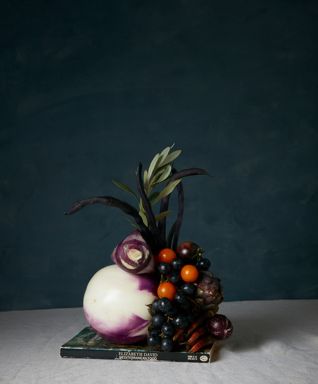 Food sculpture styling