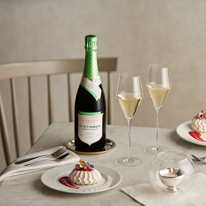 Nyetimber food and drink styling