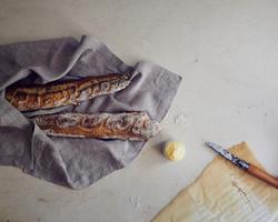 Marble -food stylist Andrea Mongenie