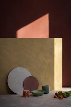 BauwerkPaints sculptural surrealist interior