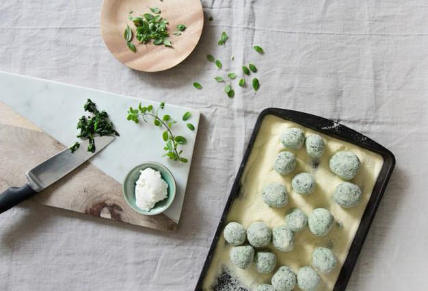 Malfetti. Food styling.