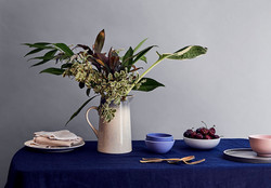 Dining table photoshoot