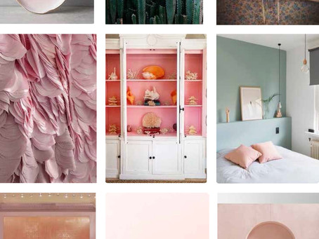 COLOUR TREND: Interior Pink and Blush trend