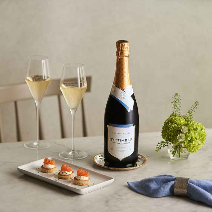 Nyetimber champagne sparkling wine