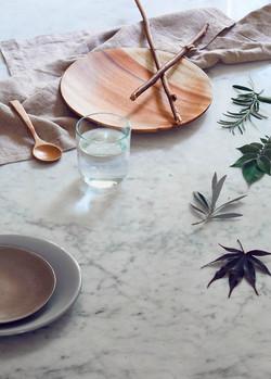 Marble -interior stylist photoshoot