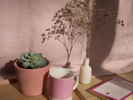 STYLING: Spring pink palette.