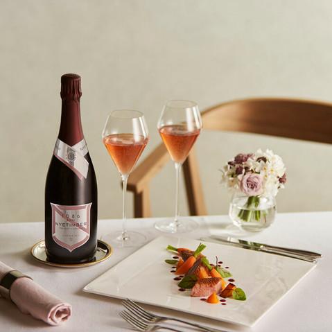 NYEtimber sparkling wine bubbly champagne stylist photoshoot