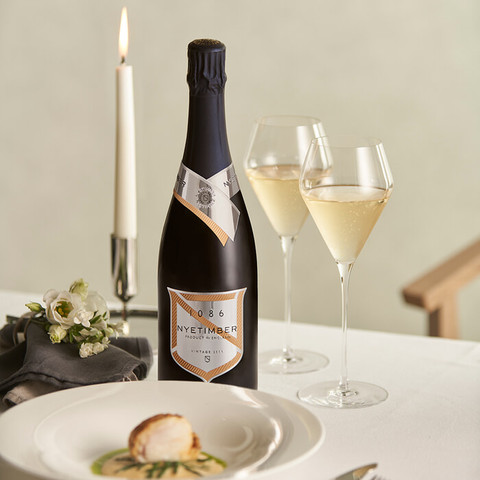 Nyetimber 1086 Food pairing Sparkling wine champagne