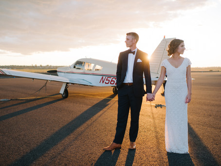 The Hangar Wedding and Life Lessons Learned