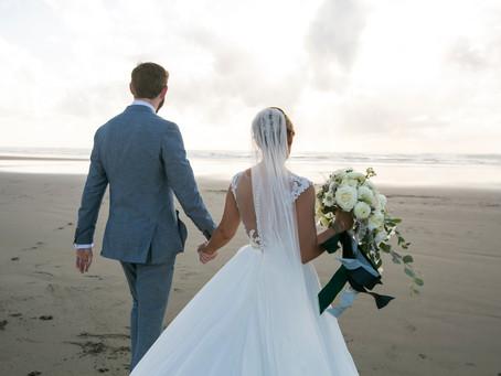 After the Rain, Comes the Sun - Oregon Coast Wedding