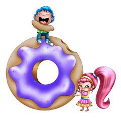 My little Doughnut Lovers