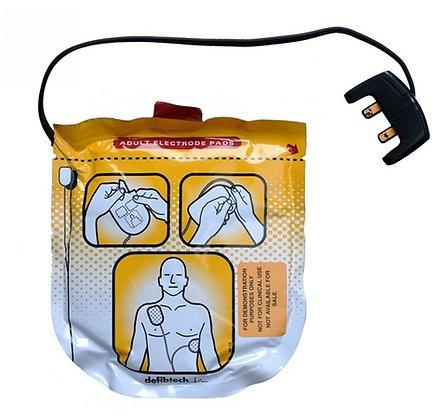 סט מדבקות מבוגר למכשיר החייאה דפיבטק