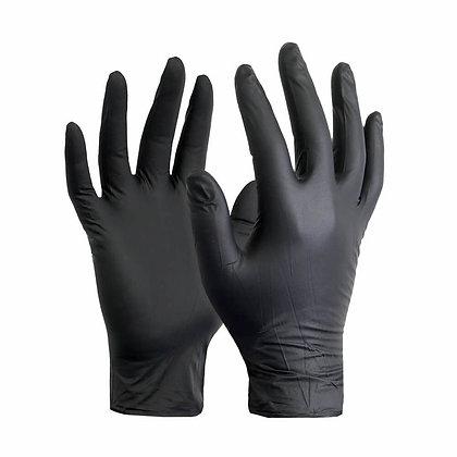כפפות ניטריל ללא אבקה - שחור