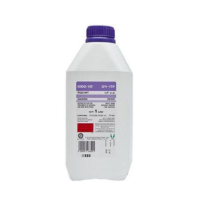 פולידין - יודו-ויט תמיסה - 1 ליטר