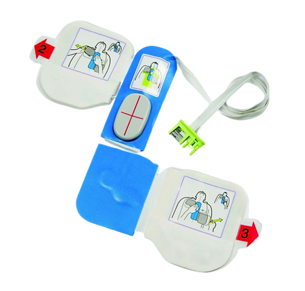 ZOLL סט מדבקות מבוגר של מכשיר החייאה