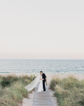 Beachfront Hamptons Weddngs