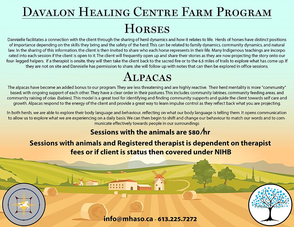 Fridays at the Farm, MHASO, Mental Health and Addiction Services of Ottawa