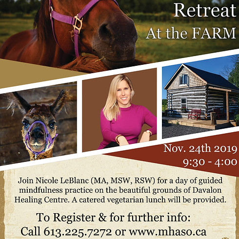 Full Day Mindfulness Retreat at the FARM