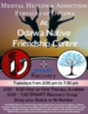 MHASO, Mental Health and Addiction Servies of Ottawa, ODAWA, Smart recovery ottawa
