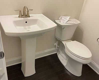 toilet & sink replacement concord nc
